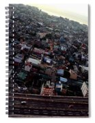 Birds Eye View Of The Pasay City Spiral Notebook