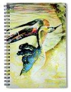 Birds Love Dance Spiral Notebook