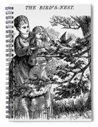 Birds Nest, 1873 Spiral Notebook