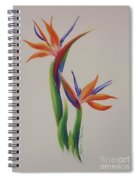 Birds Of Paradise -in Love Spiral Notebook