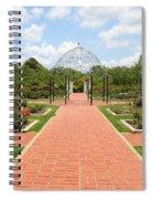 Birmingham Rose Garden Spiral Notebook