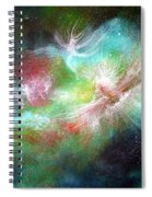 Birth Of Angels Spiral Notebook