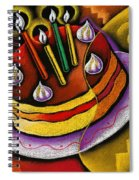 Birthday  Cake  Spiral Notebook
