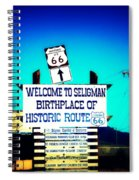 Birthplace Of Route 66 Spiral Notebook