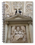 Bishop Sculpture In Cordoba Cathedral Spiral Notebook