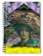 Bitter Acres Tender Memories Spiral Notebook