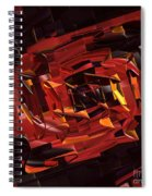 Black And Red Spiral Notebook