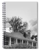 Black And White Delaware Casino Spiral Notebook