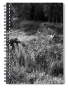 Black And White Dreams Spiral Notebook
