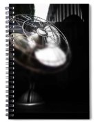 Black Breeze Spiral Notebook