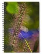Black Foxtail Spiral Notebook