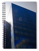 Black Glass Spiral Notebook