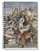 Black Kettles Village Spiral Notebook
