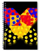 Black Mark Spiral Notebook