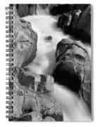 Black River Cascade Detail Spiral Notebook