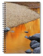Black River Reflections At Johnsons Shut Ins State Park I Spiral Notebook