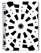 Black Spirale Spiral Notebook