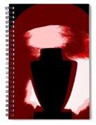 Black Urn Spiral Notebook