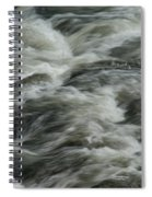 Black Water Spiral Notebook