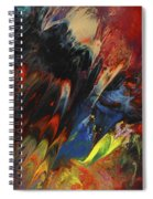 Blackbird Rainbow Blitz Spiral Notebook