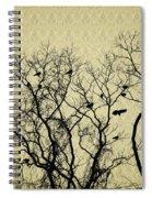 Blackbirds Roost Spiral Notebook