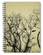 Blackbirds Roost Spiral Notebook