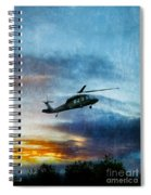 Blackhawk Helicopter Spiral Notebook