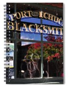 Blacksmith Shop Spiral Notebook