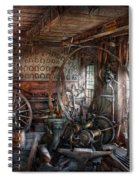Blacksmith - That's A Lot Of Hoopla Spiral Notebook