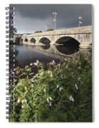 Blackwater River In Munster Region Spiral Notebook