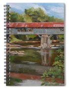 Blair Bridge Campton New Hampshire Spiral Notebook