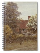Blake's House Hampstead Heath Spiral Notebook