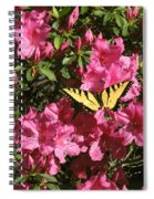 Blaze Of Spring Spiral Notebook