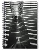 Blind Shadows Spiral Notebook