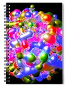 Blob Of Color... Spiral Notebook