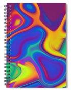 Blob Spiral Notebook