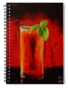 Bloody Mary Coctail Spiral Notebook
