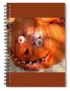 Bloody Pumpkin Spiral Notebook
