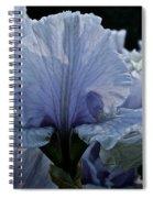 Blooming Iris Spiral Notebook