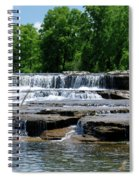 Blossom Road Waterfalls 5123 Spiral Notebook