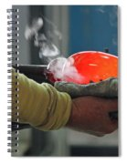 Blowing Glass IIi Spiral Notebook