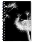 Blown Away - Sparklized Spiral Notebook