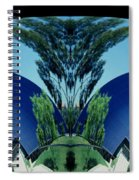 Blue Arches Spiral Notebook