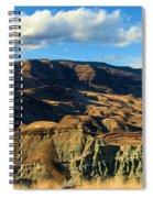 Blue Basin Blue Skies Spiral Notebook