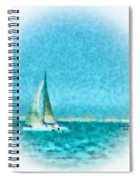 Blue Bayou Spiral Notebook