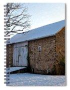 Blue Bell Barn Spiral Notebook