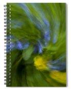 Blue Bells Vortex 2 Spiral Notebook