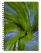 Blue Bells Vortex 3 Spiral Notebook