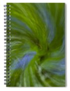Blue Bells Vortex 4 Spiral Notebook