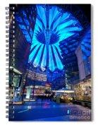 Blue Berlin Spiral Notebook